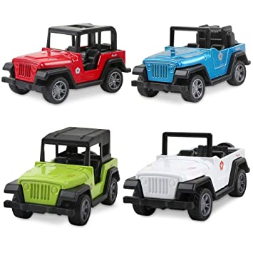 Amazon.com: Juguetes de coche Jeep para bebé, niños y niñas ...