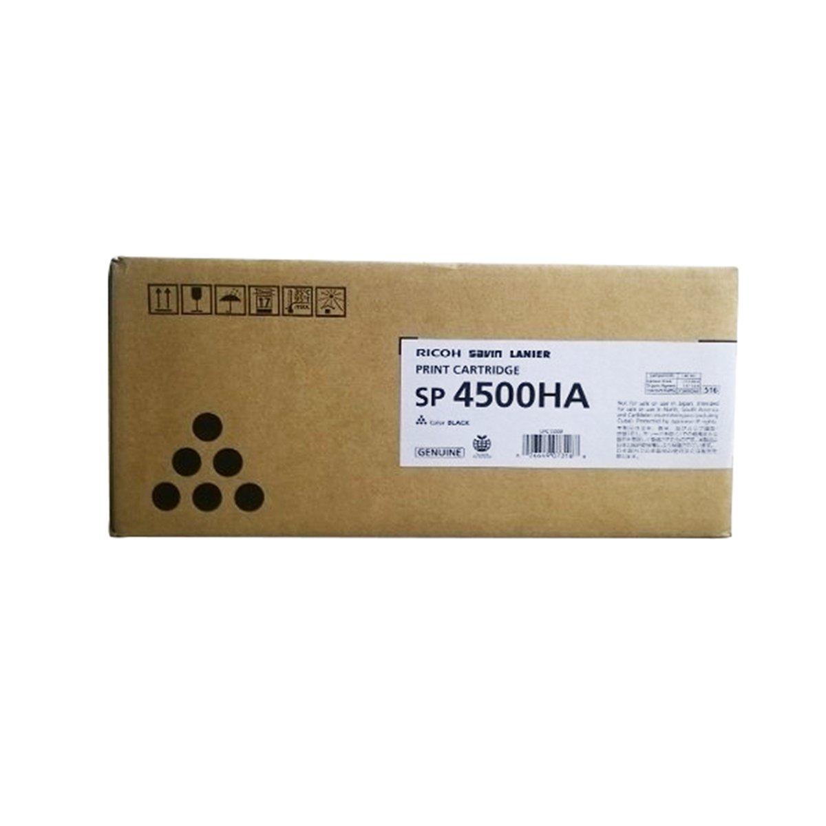 Ricoh High Yield Print Cartridge, 12000 Yield, Type SP 4500HA (407316)