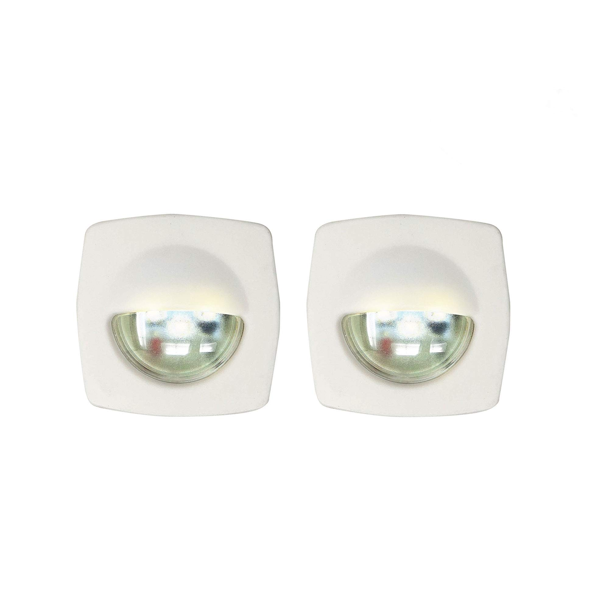Five Oceans LED Cool White Companion Way Light, White (Pair) FO-3993