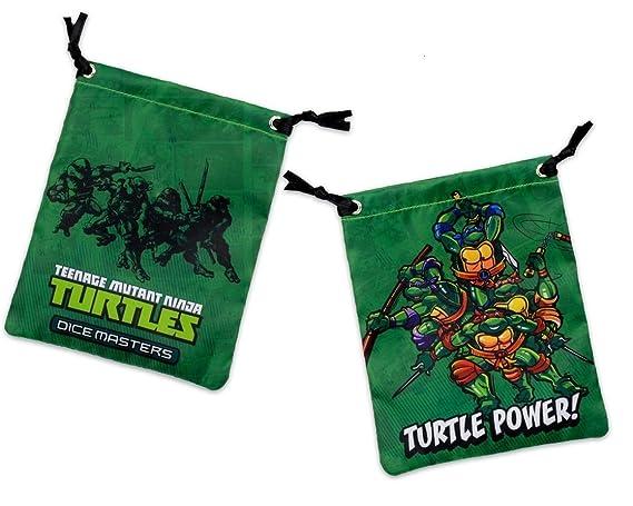 Dice Masters Tortugas Ninja Bolsa Dados: Amazon.es: Juguetes ...