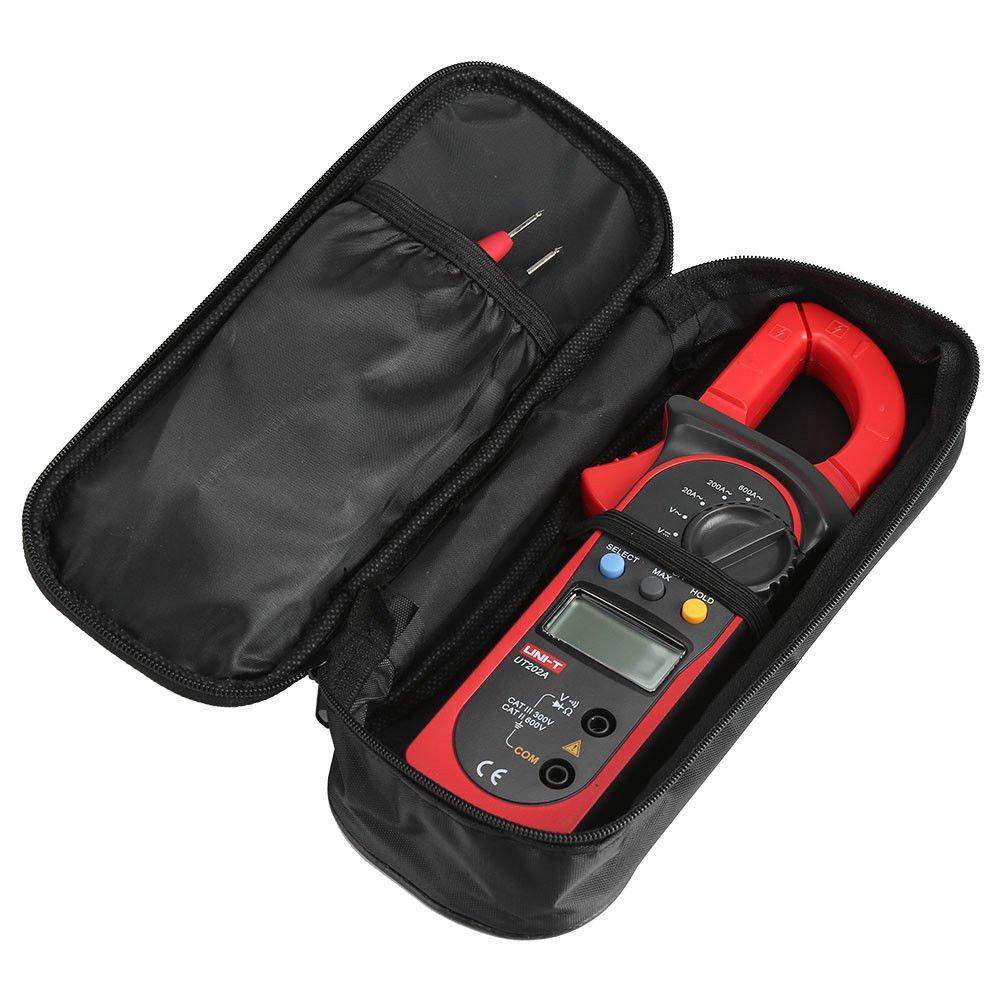Signstek Uni-t UT202A Auto/Manual Range Digital Handheld Clamp Meter Multimeter Test Tool Digital Handheld Clamp Ohm Tester, AC/DC Voltmeter, AC Current by Signstek (Image #9)