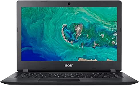 Acer A114-32-C6UF Lightweight Laptop with Preloaded Microsoft Office 365 Personal, Black, 14 inch