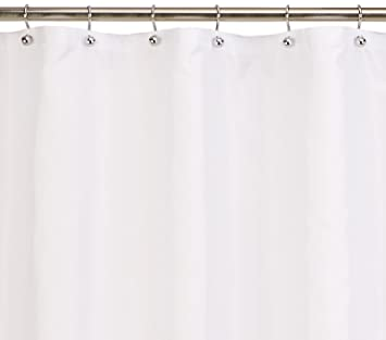Carnation Home Fashions 70 Inch By 78 Fabric Shower Curtain Liner X