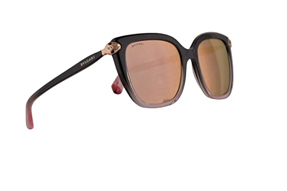 Amazon.com: Bvlgari BV8207-B - Gafas de sol, color negro ...