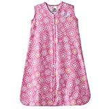 HALO SleepSack 100% Cotton Wearable Blanket Pink Alphabet Pals Small