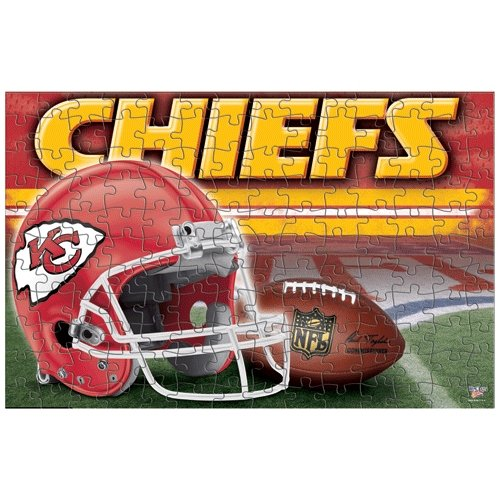 """Kansas City Chiefs Official NFL 11""""x17"""" (150pc) Jigsaw Puzzle by Wincraft"""
