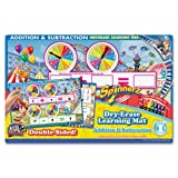 """Board Dudes 11"""" x 17"""" Dry Erase Learning Mat - Addition and Subtraction (99101UA-12)"""