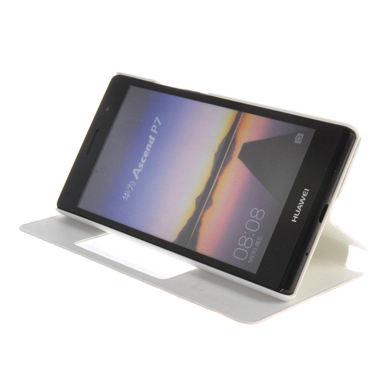 Amazon.com: S View Window Smart Flip Cover Folio Case For ...