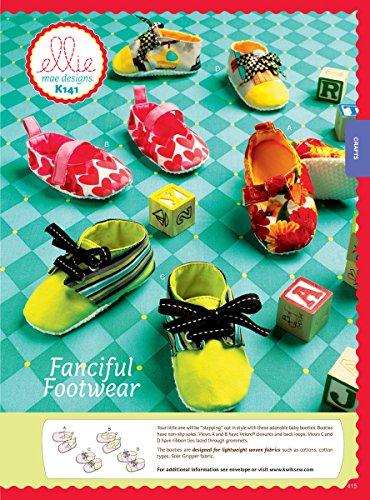 Patron Kwik Mae Chaussures De Couture Fantaisie nbsp;ellie K0141 Multicolore Designs Sew wOqT7wg