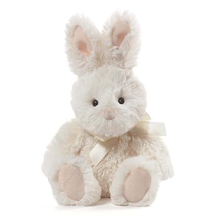 4a0edfbfa0b13 Image Unavailable. Image not available for. Color  GUND Velvet Stuffed  Animal Bunny Rabbit Plush ...