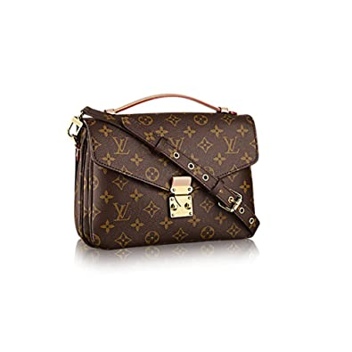 d4d248f9faf0 Authentic Louis Vuitton Monogram Canvas Pochette Metis Cross Body Bag  Handbag Article  M40780  Handbags  Amazon.com