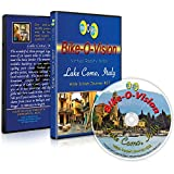 Bike-O-Vision - Virtual Cycling Adventure - Lake Como, Italy - Perfect for Indoor Cycling and Treadmill Workouts - Cardio Fitness Scenery Video (Widescreen DVD #22)