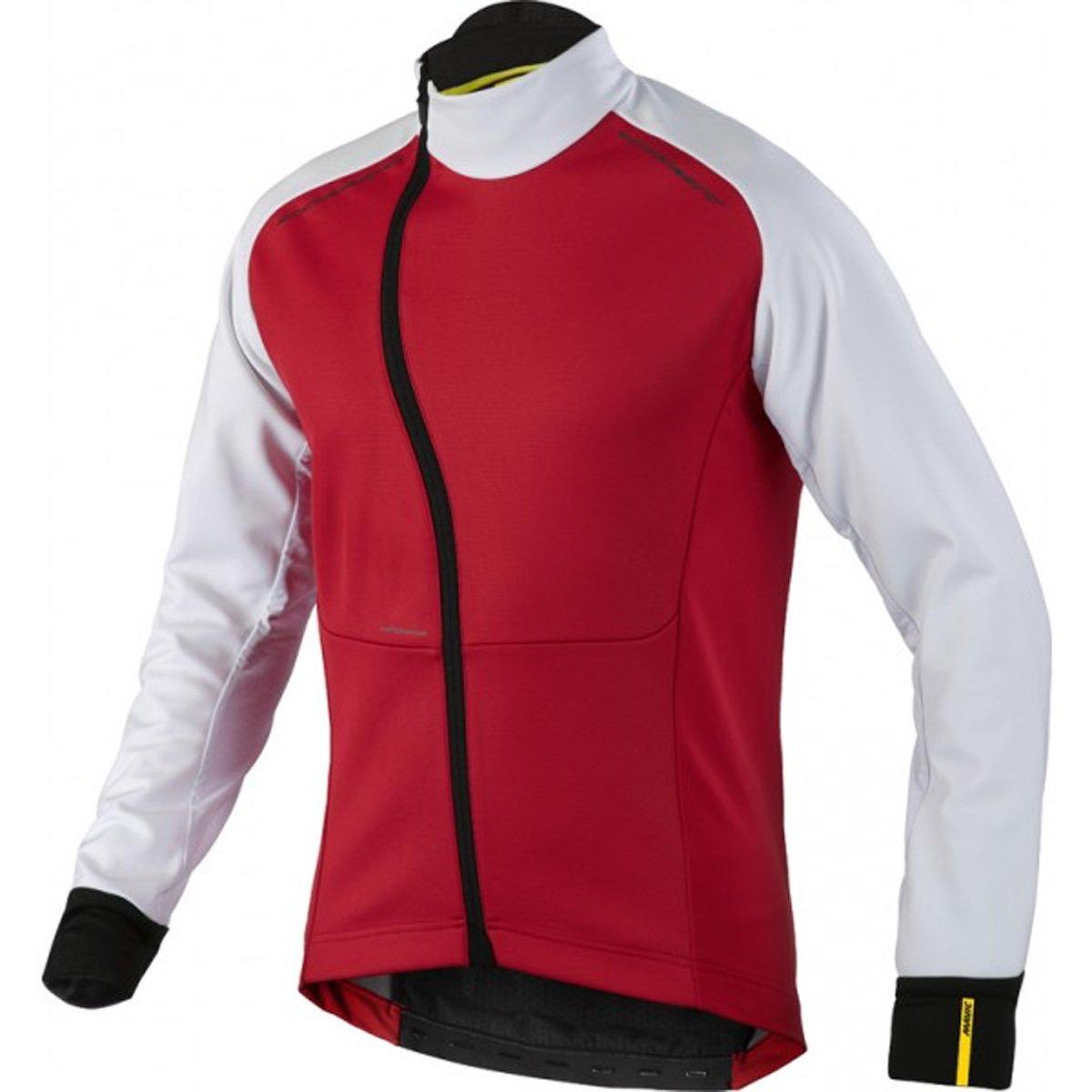 Mavic Cosmic Pro Wind Jacket Men BlackBright red Größe DE S