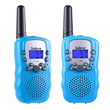 Christmas Toys For 12 Year Olds.Selieve Toys For 3 12 Year Old Boys And Girls Walkie Talkies For Kids Teen Gifts Birthday 1 Pair Blue
