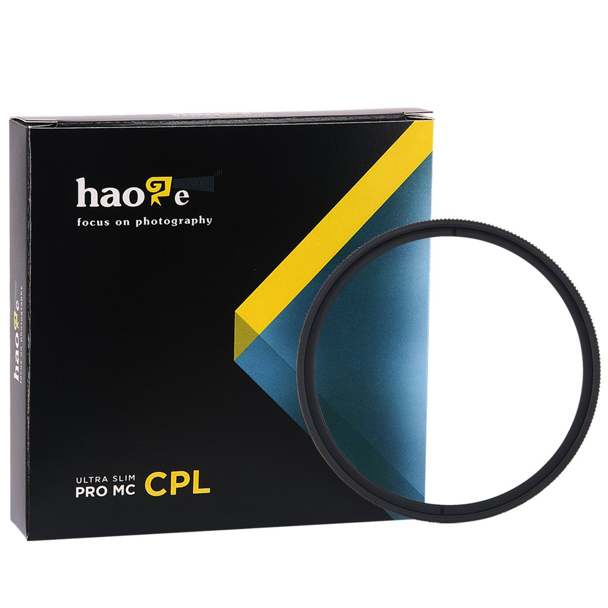 Haoge 40.5mm MC CPL Multicoated Circular Polarizer Polarizing Lens Filter for Sony Alpha a6500 a6300 a6000 a5000 a5100 NEX 5 6 Mirrorless Camera SLR with 16-50mm SELP1650 Lens by Haoge