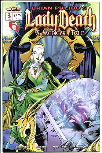 LADY DEATH : MEDIEVAL TALE #3, NM, Brian Pulido, 2003, more LD in store
