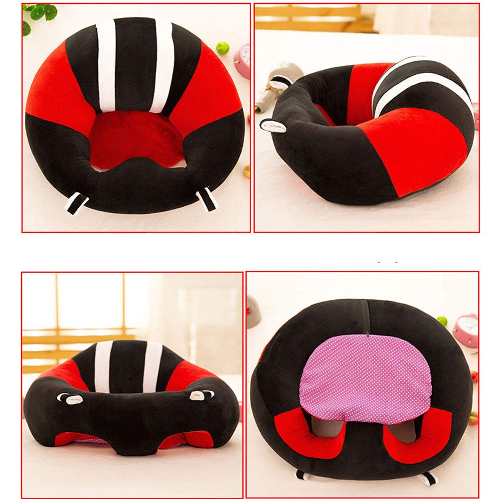 NHLL Baby Sofa Learn Sitting Chair Support Sitter Baby Prop a Pillar Tummy Time Comfortable Nursing Pillow Soft Baby Seats Cover Cotton Inside 02