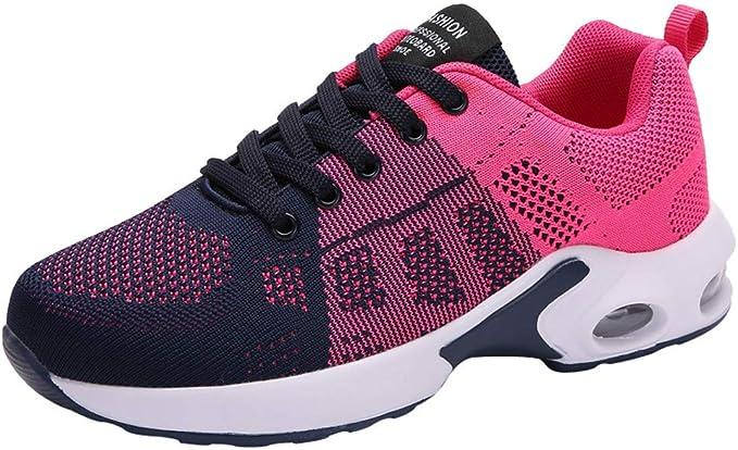 Zapatillas Running Mujer,YiYLunneo Malla Exterior Shoes Deportivas ...
