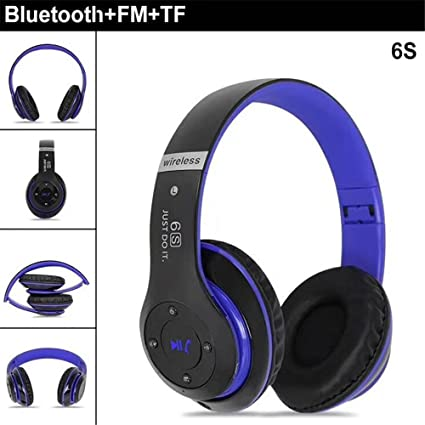 Ruixunte Bluetooth 4.0 Headphones Wireless Heavy Bass Stereo Folding Auriculares Mic Support TF SD Card