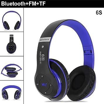Ruixunte - Auriculares Bluetooth 4.0 inalámbricos de bajo ...
