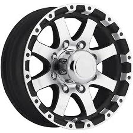 NEW 16 Gunmetal Aluminum T06 Sendel Trailer Wheel 8 Lug T06-66867GM