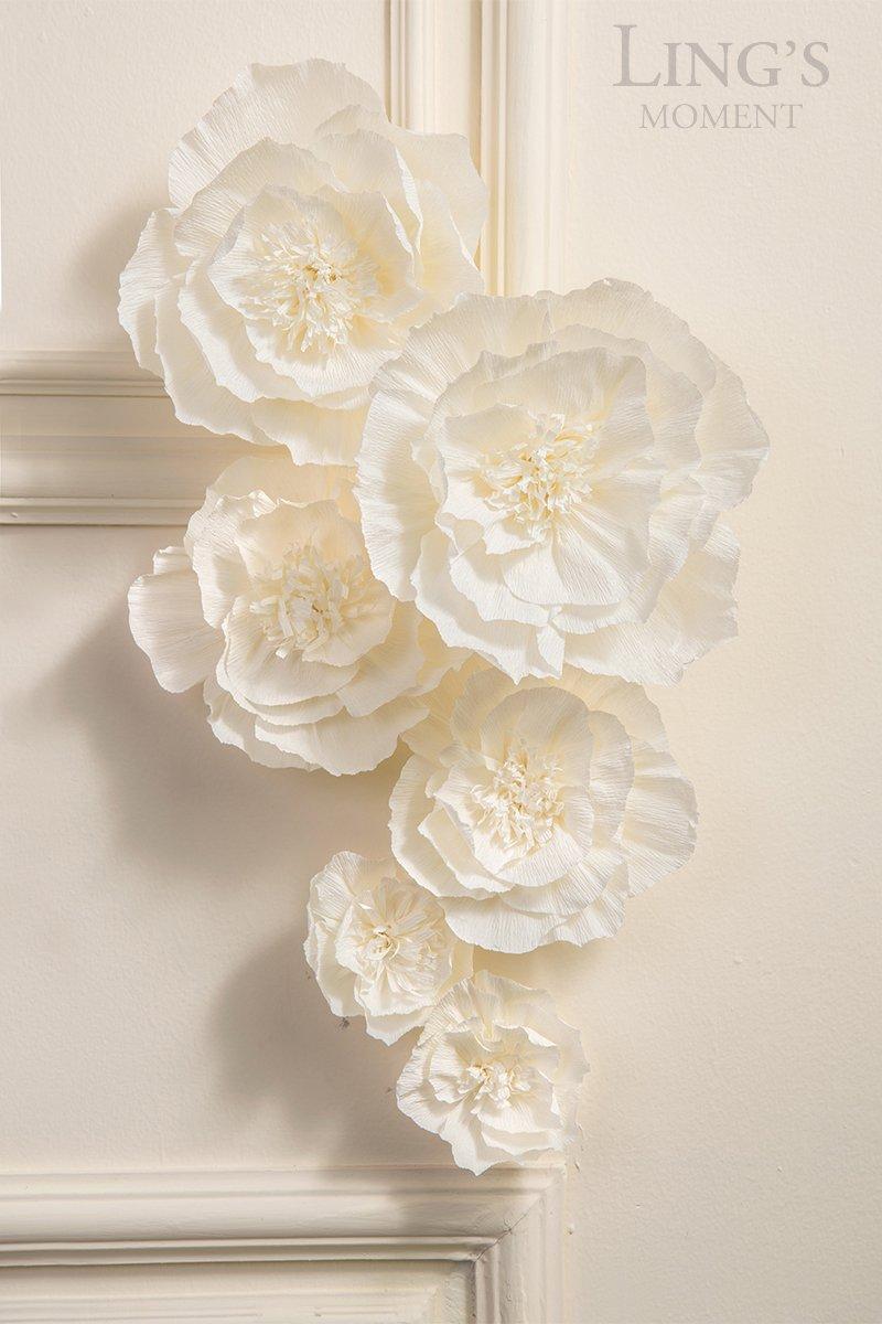 Lings-moment-Paper-Flower-Assortment-w-Leaves