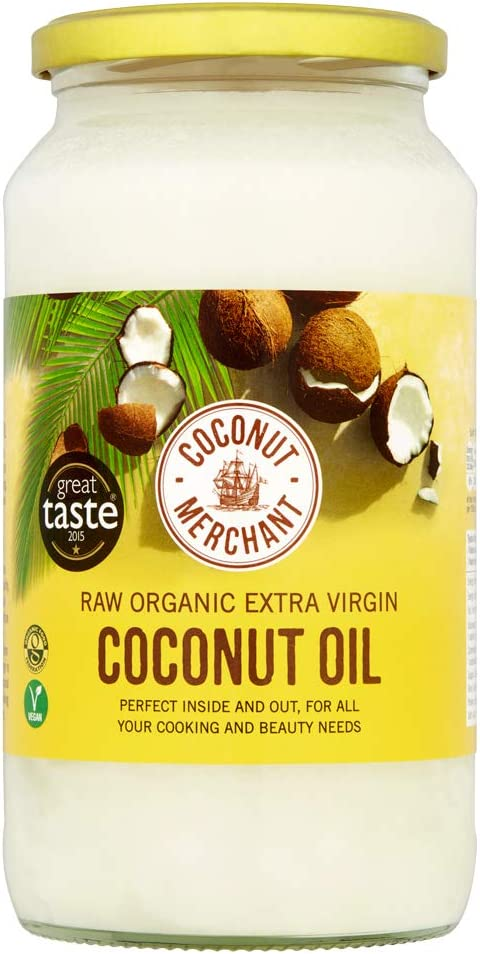Coconut Merchant Organic Coconut Oil 1L