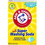 Arm & Hammer Natural detergent booster and freshener Super Washing Soda Detergent Booster & Household Cleaner, 55 oz