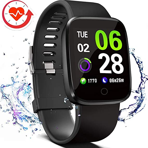 Amazon.com: FITVII Smart Watch, Fitness Tracker with ...