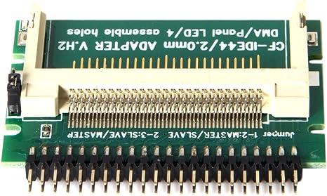 Cablecc CF - Tarjeta compacta de Memoria Flash (2,5, 44 Pines ...