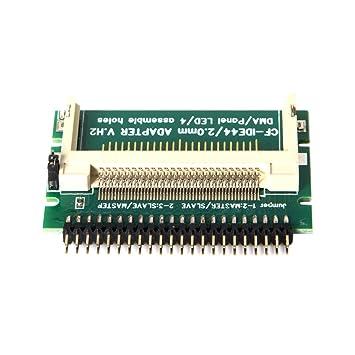 Cablecc CF - Tarjeta compacta de Memoria Flash (2,5, 44 ...