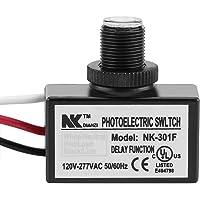 120-277V Schemering aan Dawn Sensor Foto-elektrische Schakelaar Licht Photocell Sensor Verlichting Schakelaar
