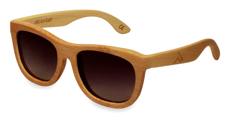 Occhiali da sole legno Overseer Wheat
