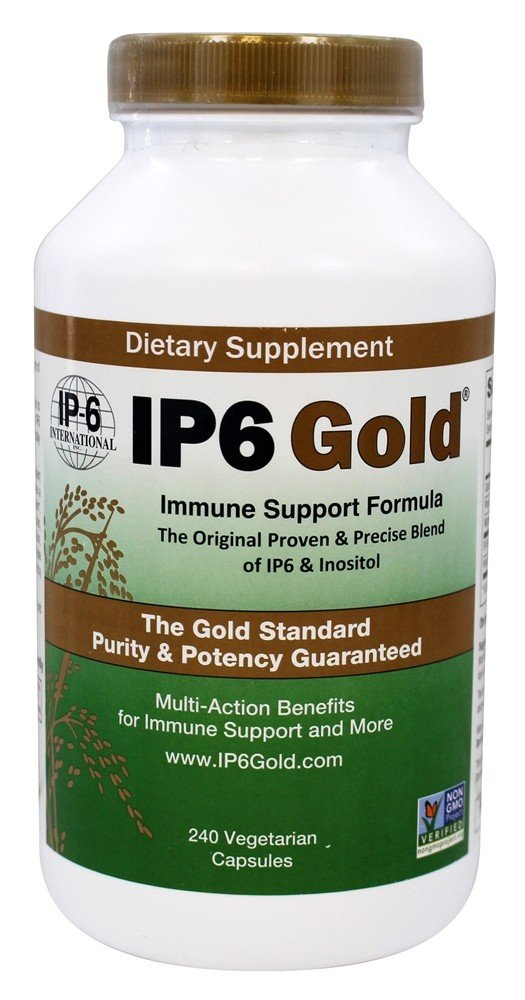 IP6 Gold Immune Support Formula by IP6 - 240 Vegetarian Capsules