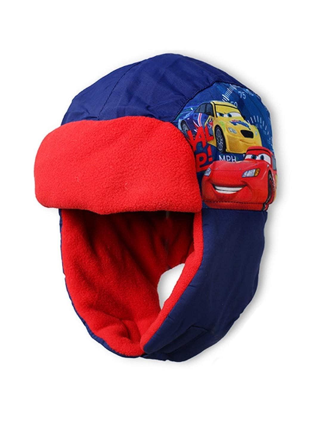 341843f86f1e Cars Bonnet - Chapka enfant garçon Disney Bleu et Marine de 3 à 9ans -  Marine rouge, 54 cm (6-8 ans)  Amazon.fr  Vêtements et accessoires