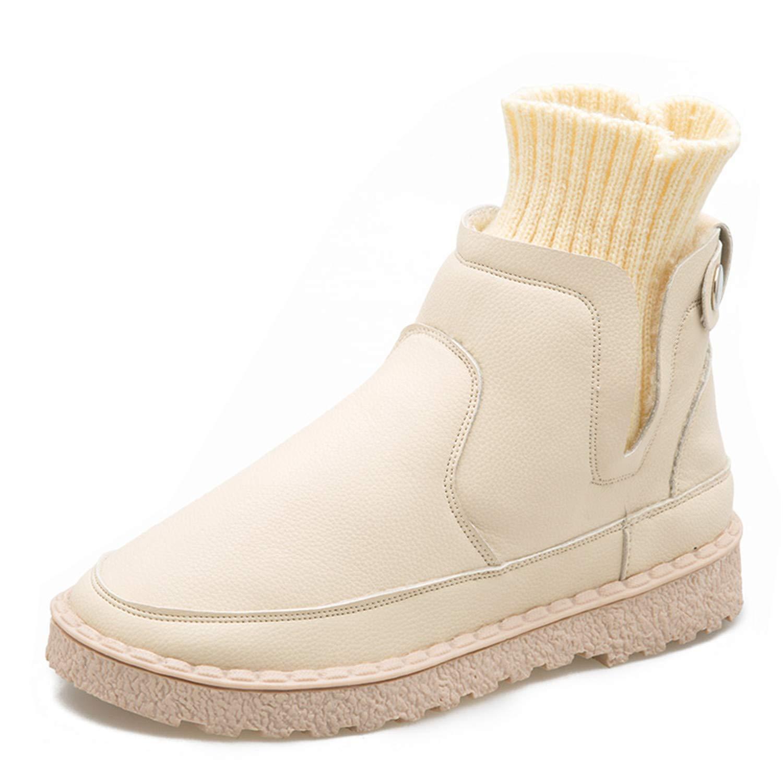 358447d58f2b1 Amazon.com | Kongsta Women Autumn Winter Pu Leather Ankle Boots ...