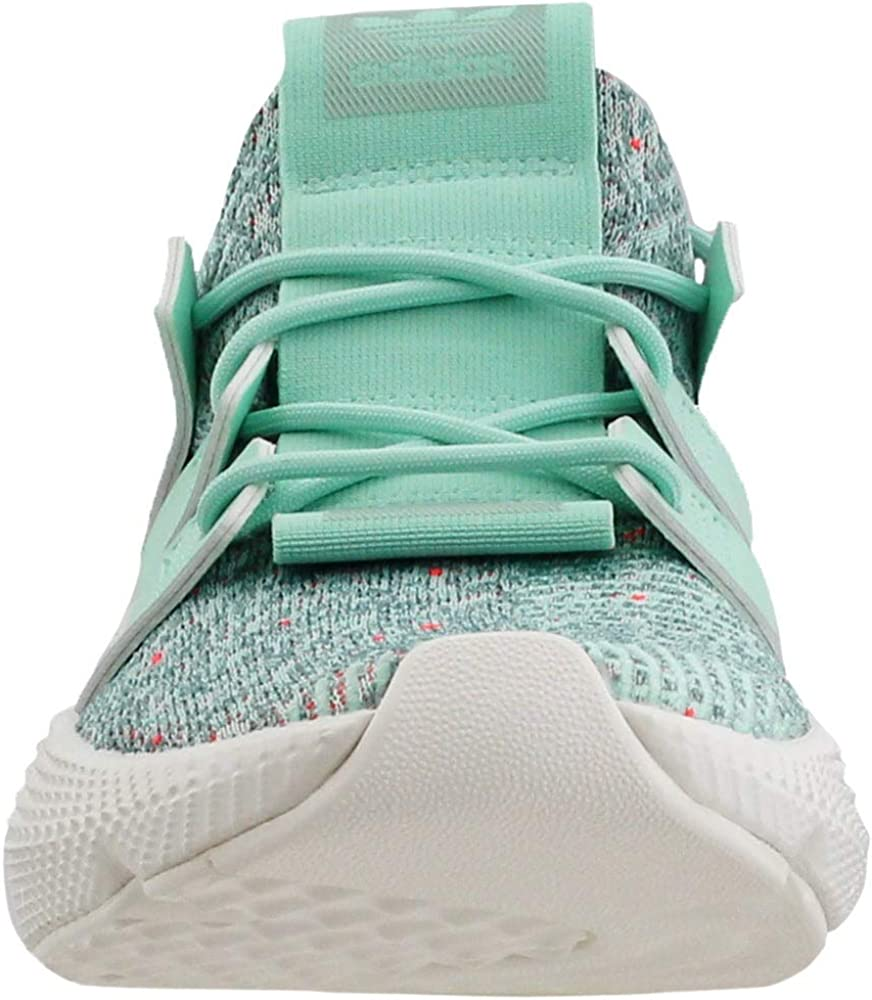 adidas Womens Prophere Casual Sneakers, Clear Mint / Solar Red