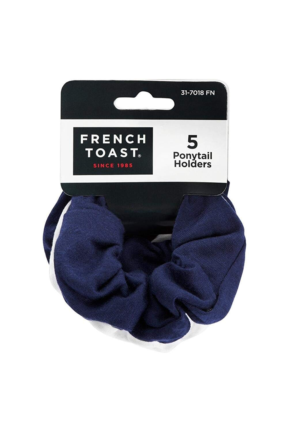 French Toast Cotton Scrunchies 5-Pack