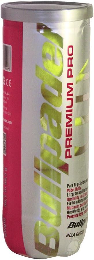 Bullpadel Bull Padel Premium Pro - Bote De 3 Pelotas De Pádel