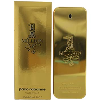 Amazoncom 1 Million By Paco Rabanne Mens Eau De Toilette Spray