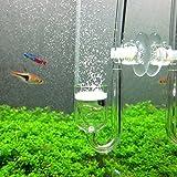 CO2 Diffuser, Yagote Nano CO2 Diffuser Glass Reactor for Aquarium Planted Tank