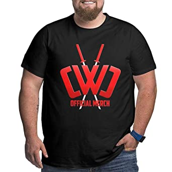 KDHRTI Camisetas, Mens Plus Size T-Shirt CWC Chad Wild Clay ...