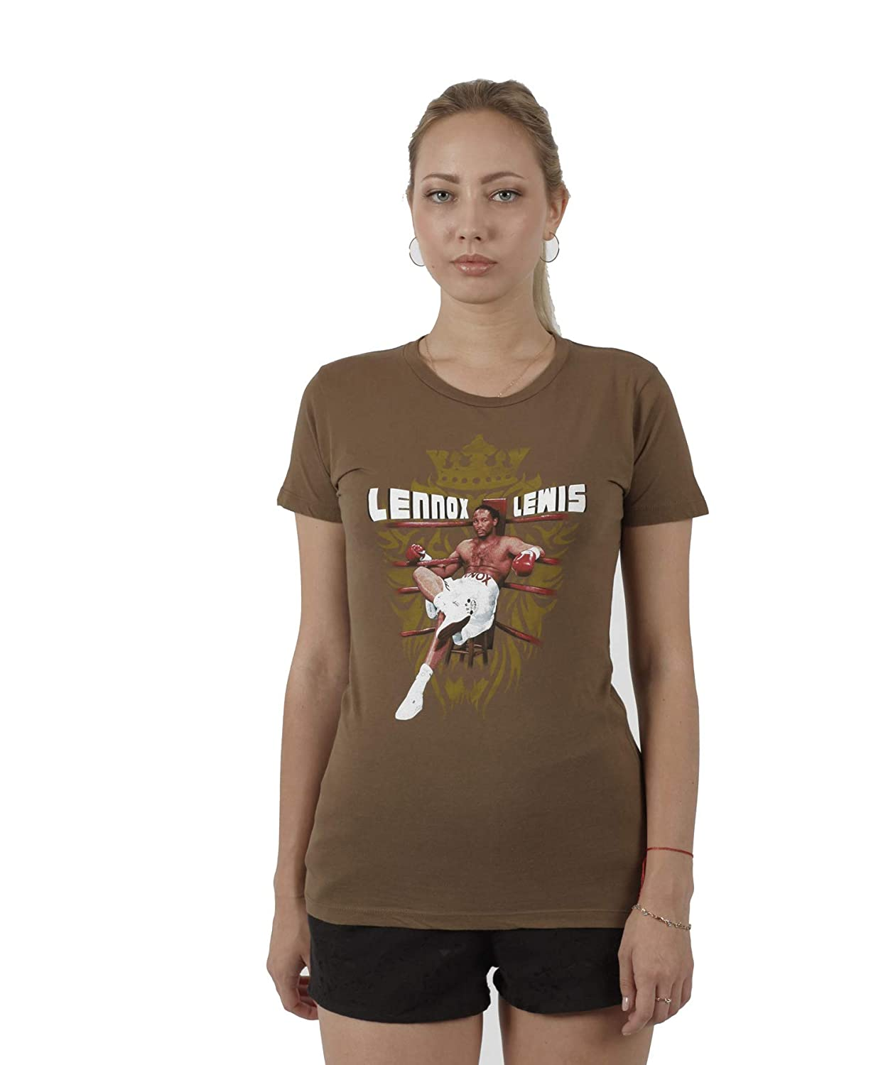 Lennox Lewis Ring in The Ring T-Shirt for Women