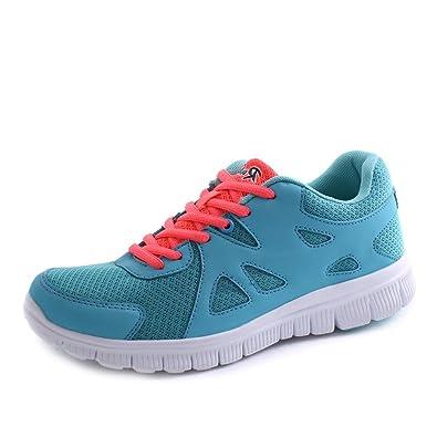 Fitters Damen Fitness Laufschuh, Größe:38;Farbe:Turquoise Fitters Footwear