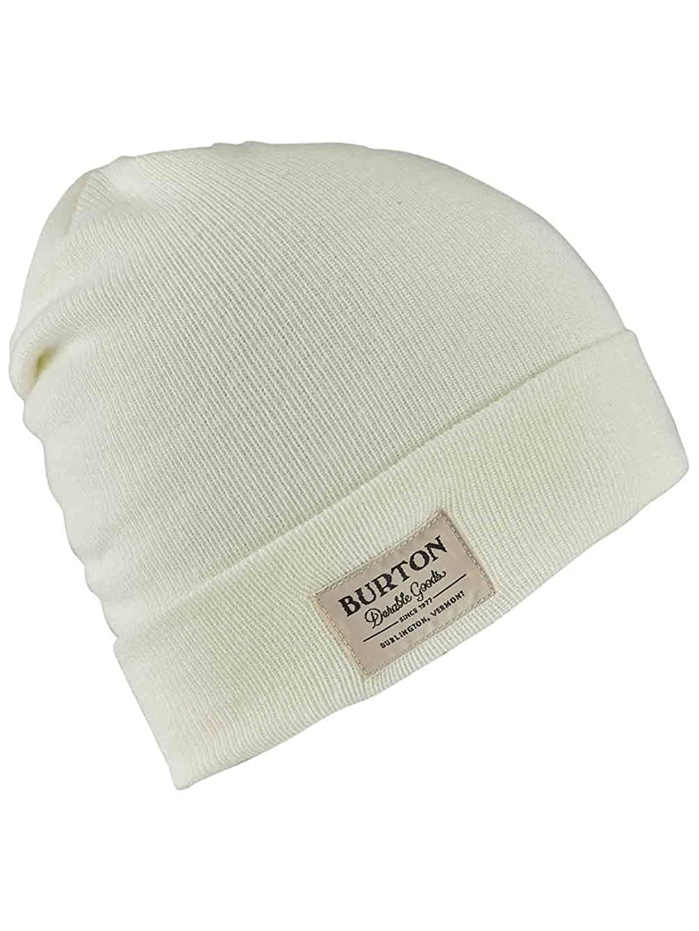Burton Gorros Kactusbunch Tall White Cuff: Amazon.es: Ropa y ...