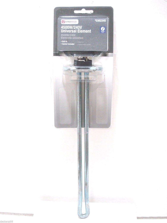 Utilitech Universal Water Heater Element 4500 W 240 V Bolt In