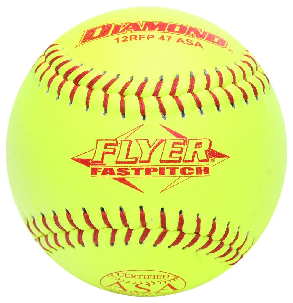 ダイヤモンドスポーツ12rfp 47 47 B00498LZWG 375レザーカバーFastpitchソフトボール、ダース( 12インチ) 12インチ) B00498LZWG, avaler:f3410790 --- sayselfiee.com