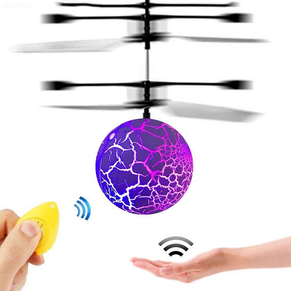 Juguetes para 3-16 Años de Edad Chicos, GZMY LED Parpadeante Pelota Voladora Juguetes 3-12 Años de Edad Las Niñas Regalos Regalos de Navidad