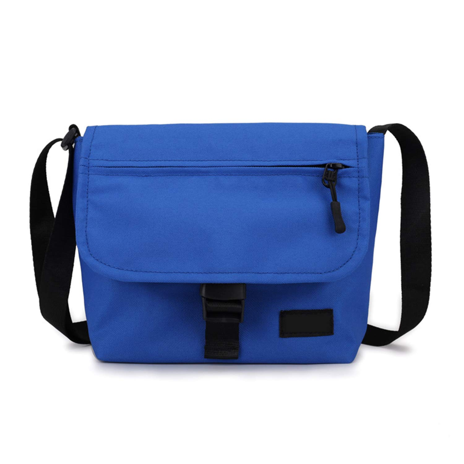 Road/&Cool Shoulder Bags Hip Hop Slung Canvas Small Square Bag Campus Couple Buckle Bag 3L Unisex Messenger Bag Nylon Coin Purse Shopping Bag