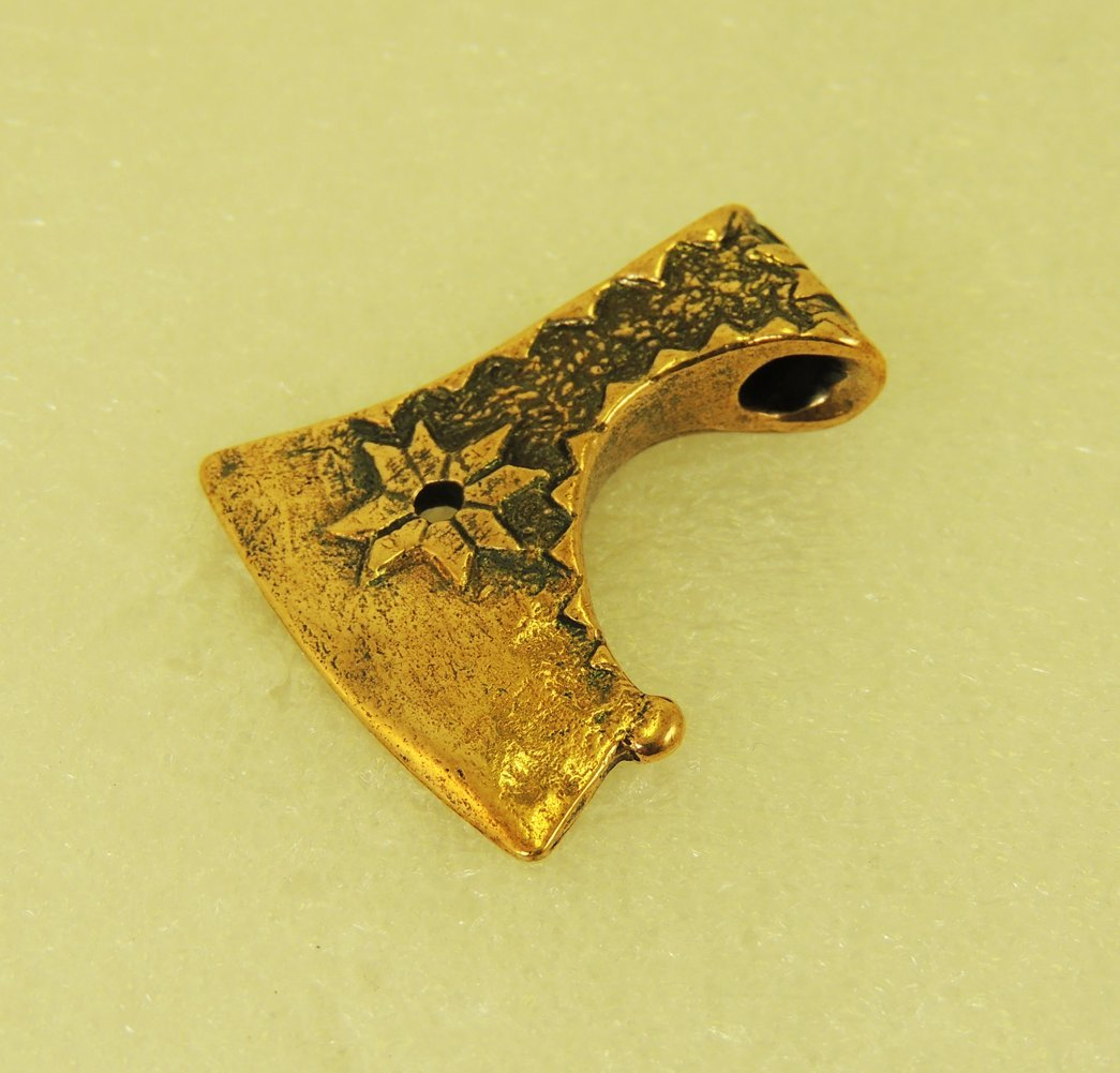Amulet The Axe Of Perun With A Star